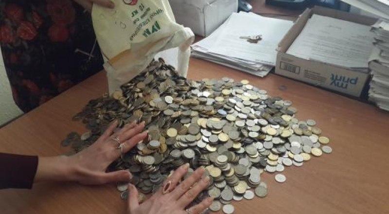 С юридической точки зрения, даже мелкие монеты представляют ценность.