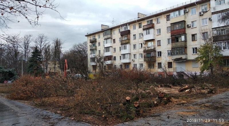 Так теперь выглядят дом на улице Гагарина, 20, и его великолепная придомовая территория.