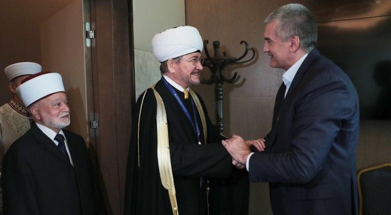 Глава республики и мусульмане.