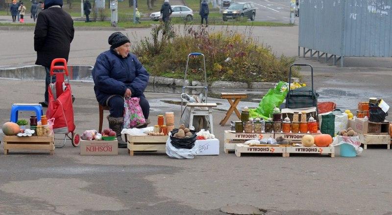 Стихийный рынок. Фото взято с сайта nb-ugra.ru