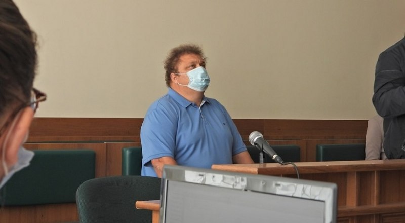Сергей Бейм в зале суда.