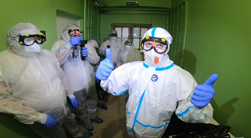 Фото пресс-службы Министерства здравоохранения Республики Крым.
