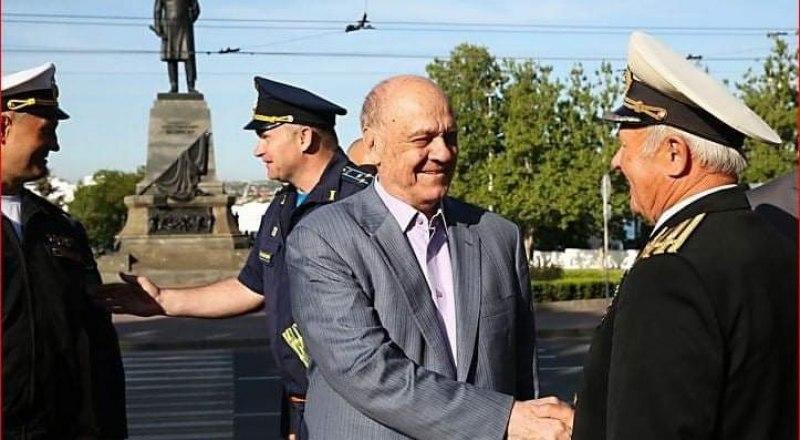 Владимир Меньшов в Севастополе.