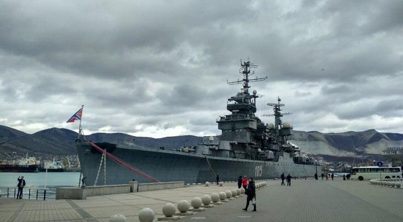 Крейсер впечатляет своим масштабом и величием.