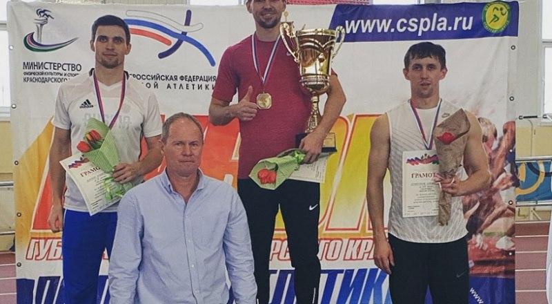 Приз губернатора Краснодарского края в руках симферопольского мастера спорта международного класса Руслана Перестюка.