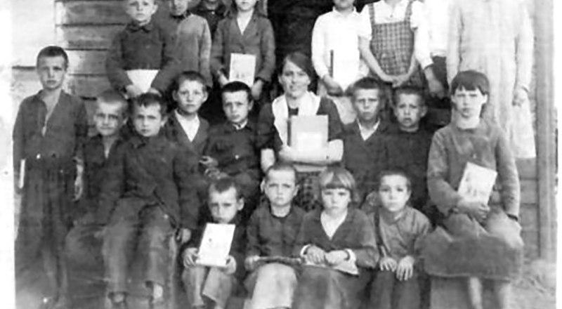 1 и 3 классы в школе на Полтавщине.