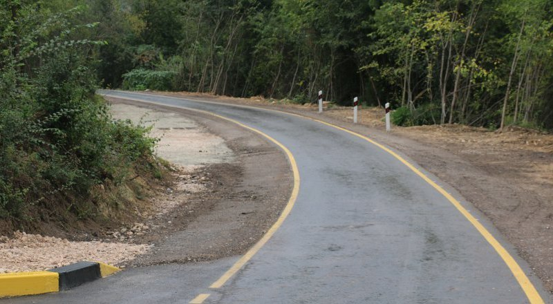 Дорогу Орлиное — Тыловое сдадут в середине ноября