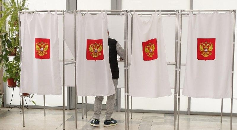 Крымчане выбирают депутатов Госдумы. Фото: Анны Кадниковой