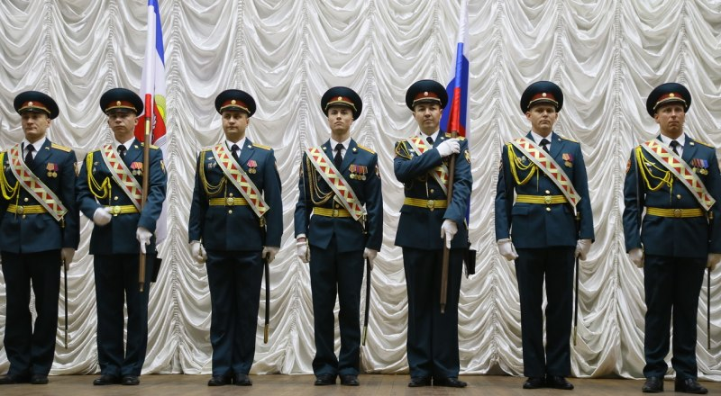 Торжественное собрание в Симферопольском музыкальном училище имени П. И. Чайковского.
