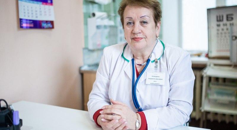 Людмила Прокудина.