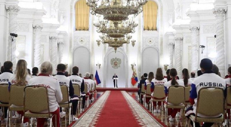 Президент Российской Федерации Владимир Путин желает олимпийцам «токийского призыва» успехов на Играх-2020.