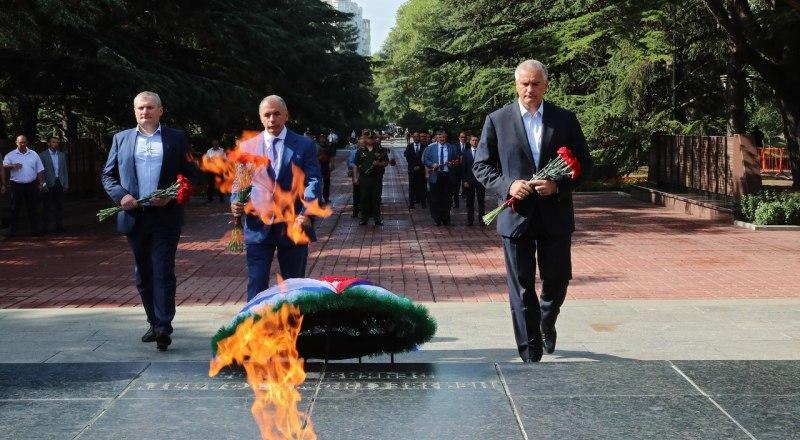Памятные мероприятия, посвящённые Дню окончания Второй мировой войны в Симферополе.