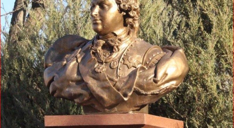 Бюст основателю Симферополя появился в столице республики 3 года назад.