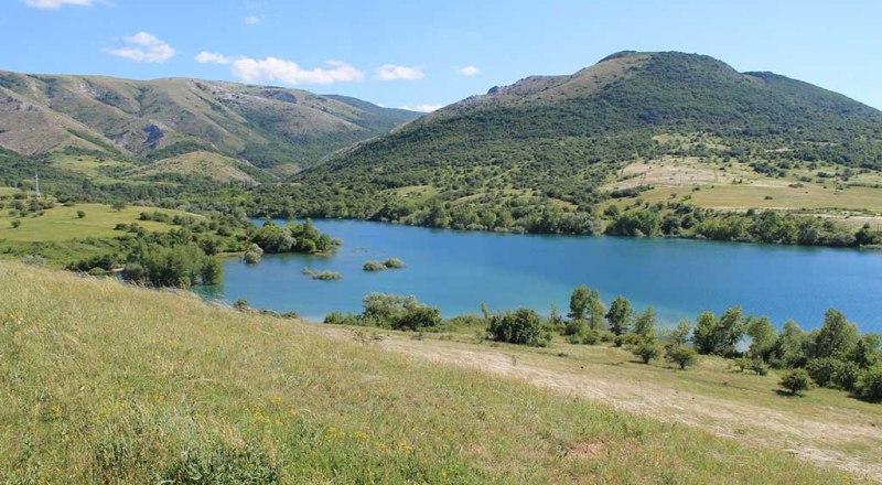 Аянское водохранилище.