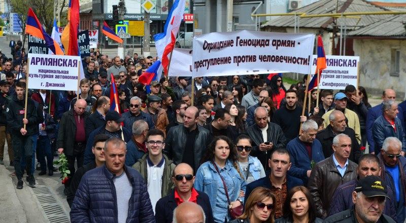 В Крыму почтили память жертв геноцида. Фото Александра Кадникова.