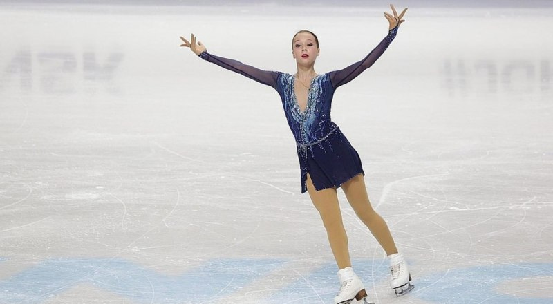 Наш отряд чемпионов III зимних юношеских Олимпийских игр пополнила фигуристка Ксения Синицына.