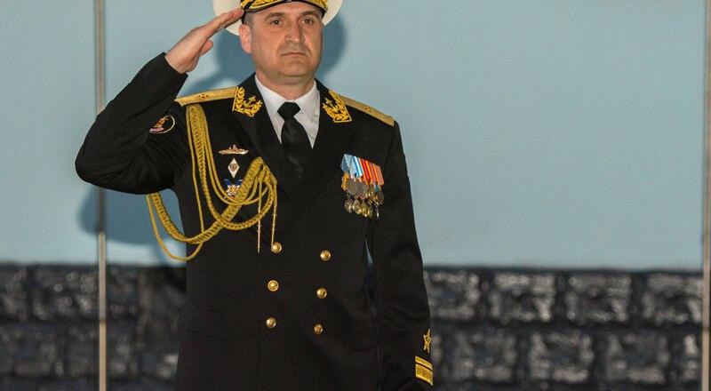 Вице-адмирал Игорь Осипов.