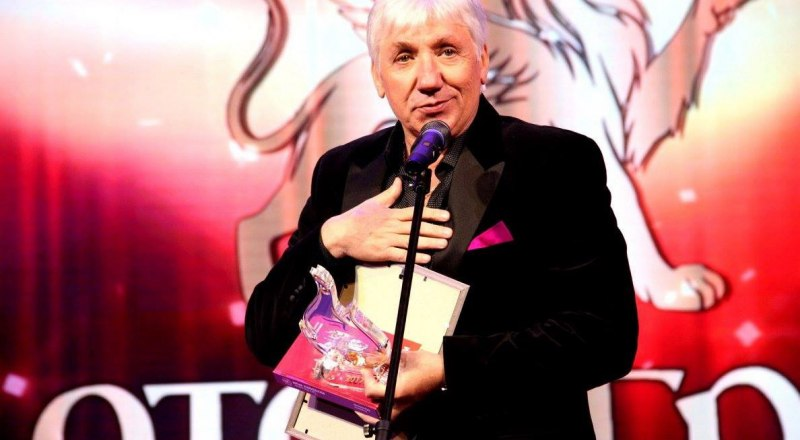 Лауреат премии - Валерий Карпов.