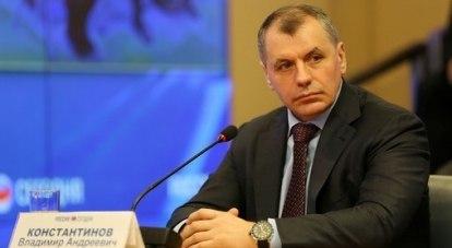 В. Константинов: «Крым - это не только курорты...».