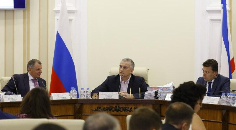 Сергей Аксёнов пообещал не церемониться с чиновниками, игнорирующими его поручения.