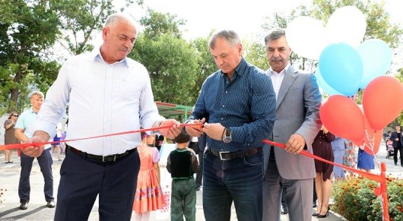 Торжественное открытие модульного детского сада в Бахчисарае.
