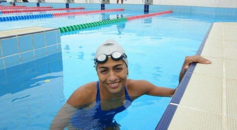 Призёр Паралимпийских игр по плаванию в Лондоне-2013, заслуженный мастер спорта крымчанка Ани Ралян готовится к стартам Паралимпиады в Токио-2020.