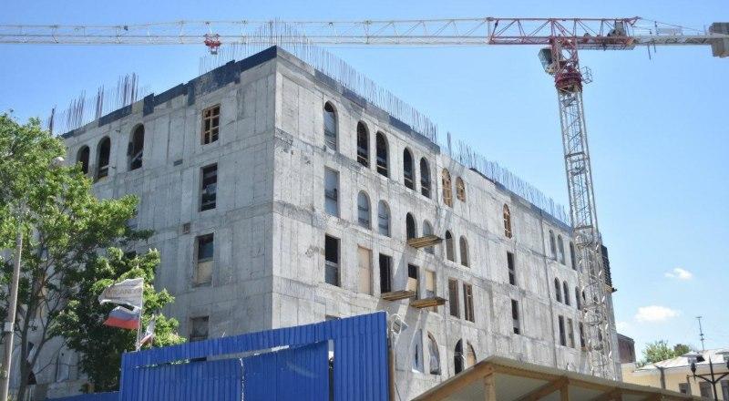 Площадь 6-этажного здания нового театра кукол составит 8691,7 квадратных метров.