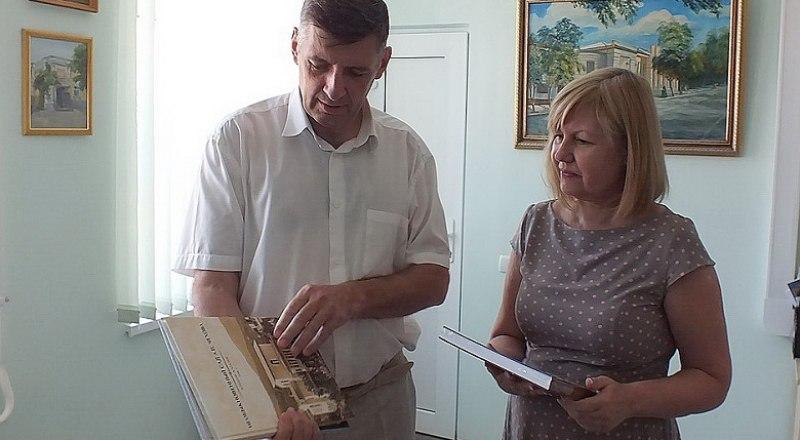В Таганроге рады подарку от крымчан.