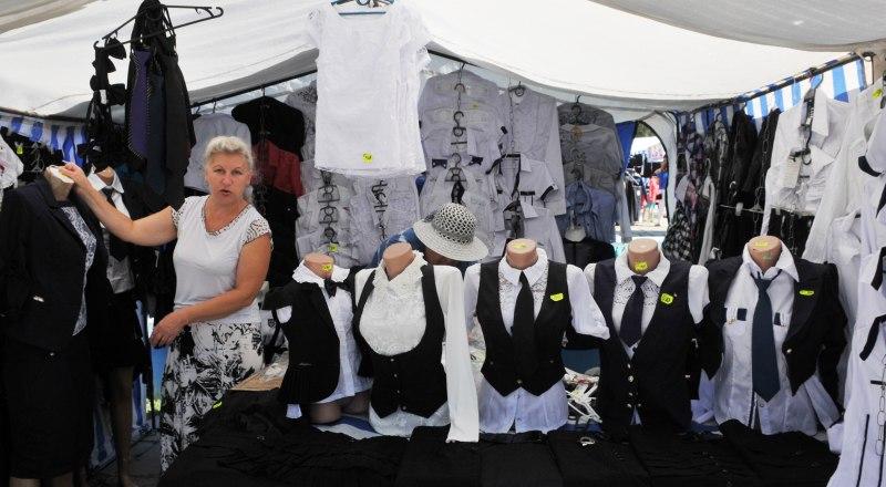Школьные базары в августе есть в любом городе Крыма. Только цены там не всегда радуют.