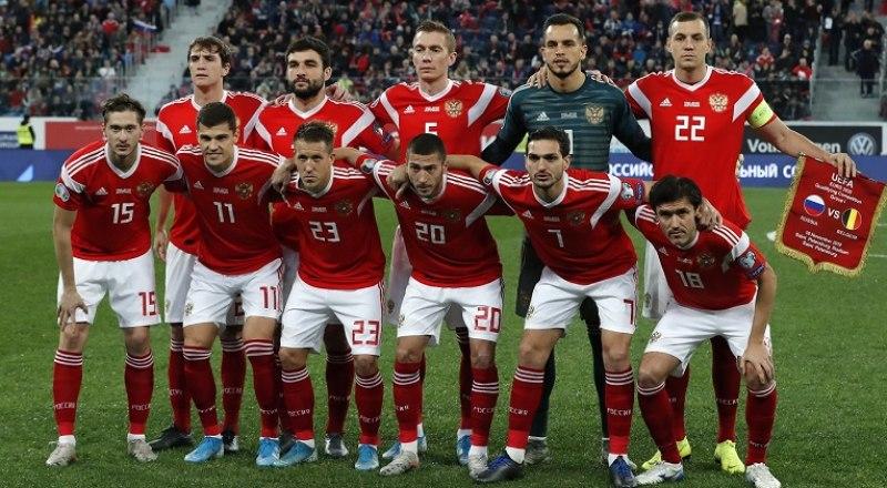 Вот один из составов сборной России, который сыграет на чемпионате Европы.