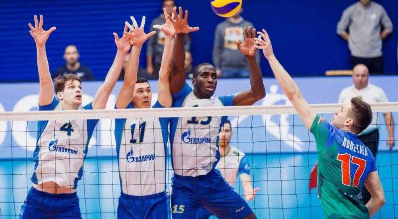 Вот таков он, тройной блок волейболистов казанского «Зенита».