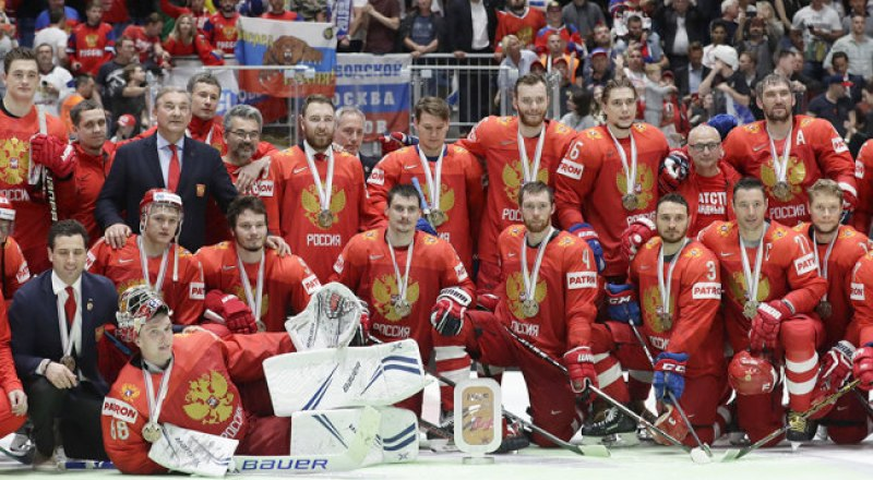 Вот она, сборная России, - бронзовый призёр чемпионата мира-2019.