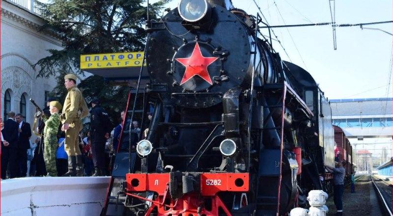 С понедельника в Крым прибывает «Поезд Победы».