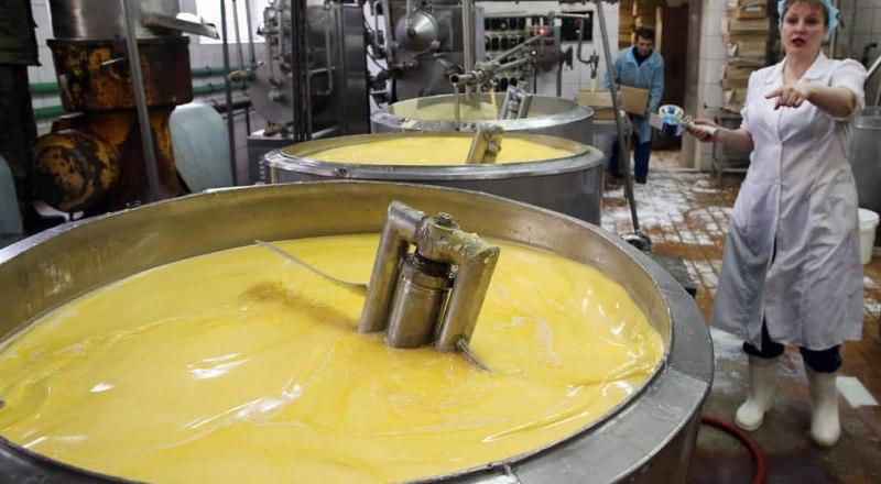 Молочные заводы засекречены, как военные объекты.