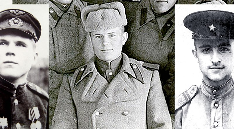Фёдор Гаврилов, Иван Робак, Азат Григорян.