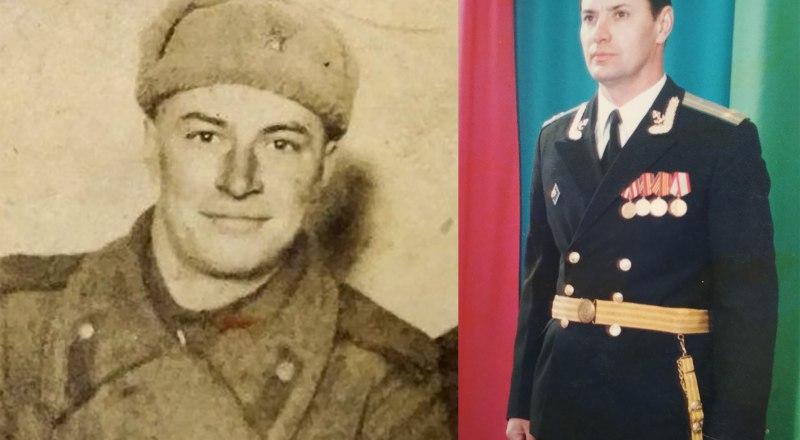 Пётр и Валерий Плакса, защитники мира.