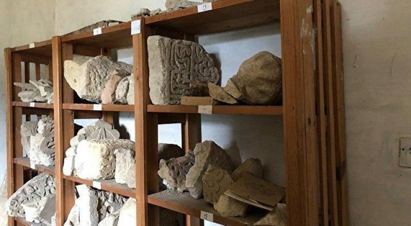 Многие из найденных предметов - в единичном экземпляре.