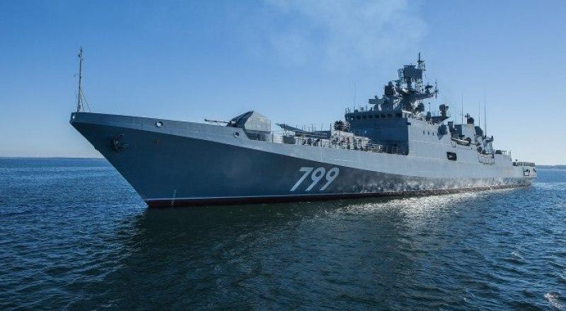 Фрегат выполняет задачи в Средиземном море с ноября прошлого года.