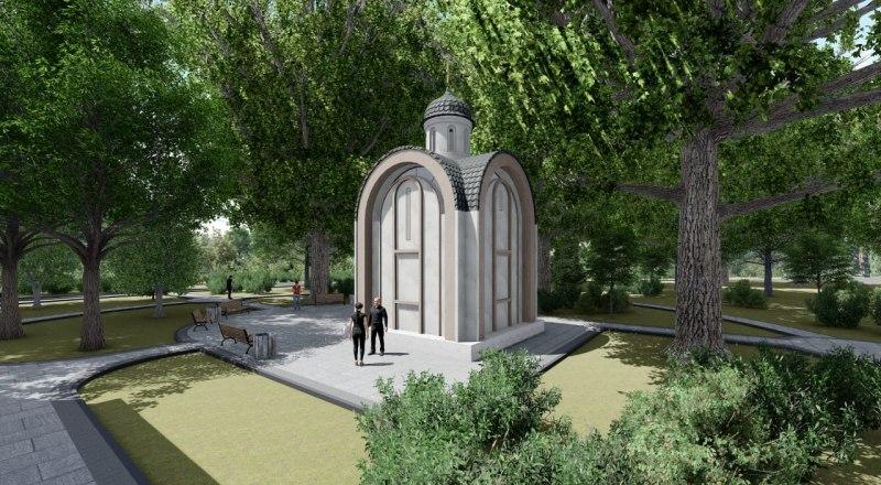 Проект будущего храма. Фото пресс-службы КФУ.