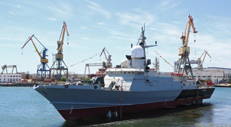 Малый ракетный корабль «Циклон».