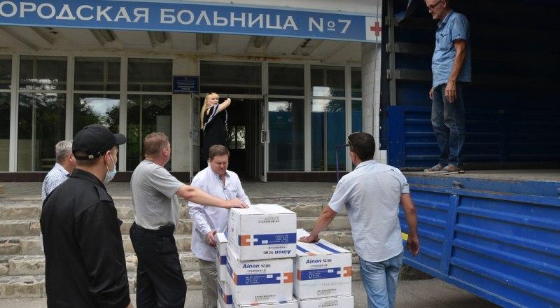 Фото пресс-службы Министерства здравоохранения Республики Крым