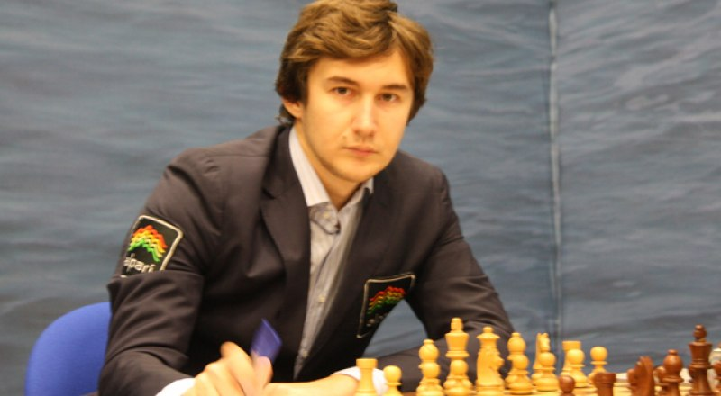 Вице-чемпион мира по шахматам гроссмейстер Сергей Карякин.