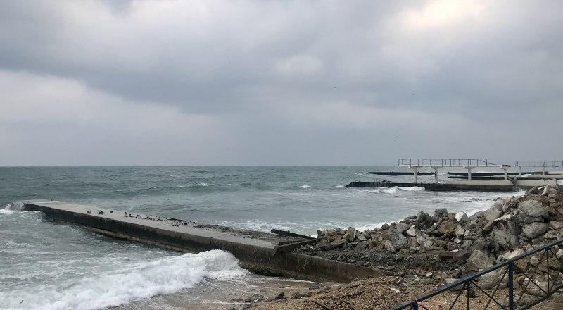 Пока пляжи выглядят страшно. Но это временно.