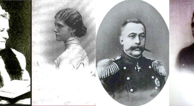 Надежда и Ирина Барятинские, Иван и Сергей Мальцовы (слева направо), казнённые за добро.
