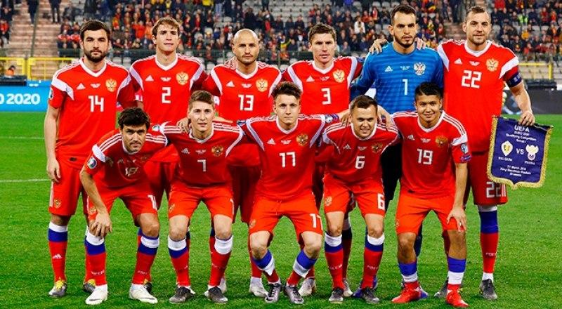 Сборная России, досрочно ставшая участницей чемпионата Европы-2020.
