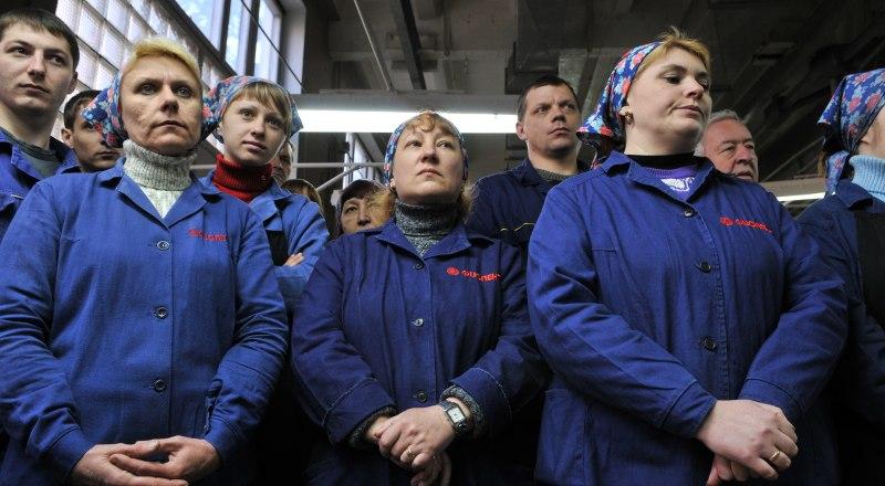 И на заводе «Фиолент» женщин больше, чем мужчин.
