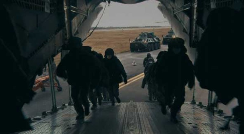 Российские миротворцы отправляются в зону конфликта.