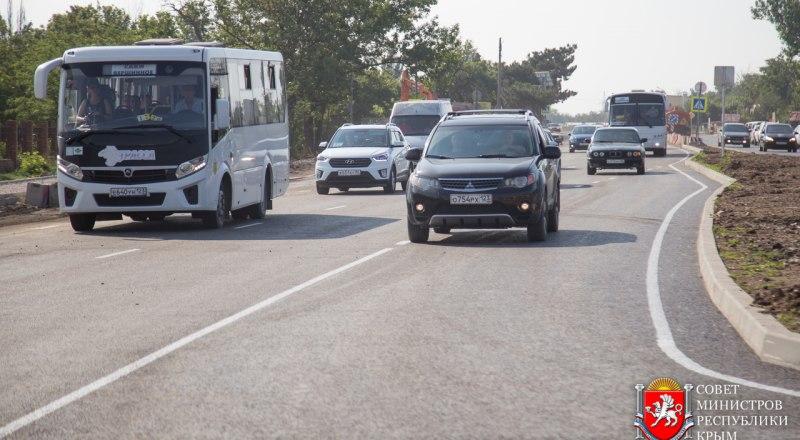 Новая дорога в Саках должна уменьшить пробки. Но только этого участка пока не хватает...