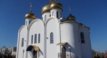 Храм в честь великого флотоводца
